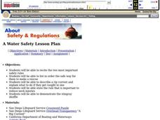 Water Safety Lesson Plan