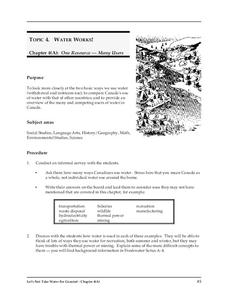 Water Works Lesson Plan
