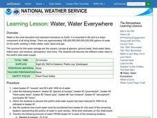 Water, Water Everywhere Lesson Plan