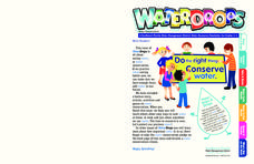 Waterdrops Worksheet
