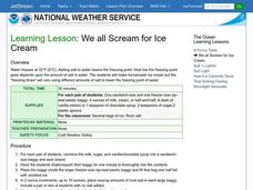 We all Scream for Ice Cream Lesson Plan