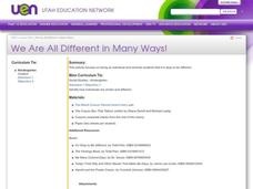 We Are All Different in Many Ways! Lesson Plan