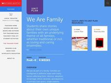 We Are Family Lesson Plan