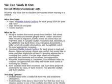 We Can Work It Out Lesson Plan