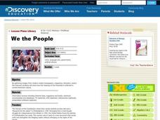 We the People Lesson Plan