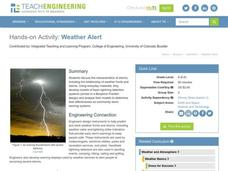 Weather Alert Activities & Project