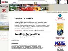 Weather Forecasting Lesson Plan