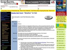 Weather Or Not Lesson Plan