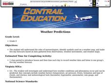 Weather Predictions Lesson Plan
