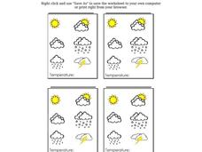 Weather Tracking Worksheet