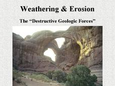 Weathering and Erosion Presentation