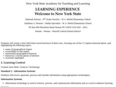 Welcome to New York State Lesson Plan