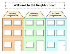 Welcome to the Neighborhood Lesson Plan