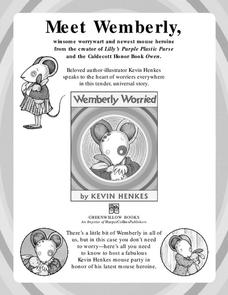 Wemberly Worried Lesson Plan