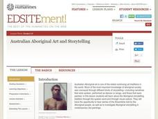 Australian Aboriginal Art And Storytelling Lesson Plan