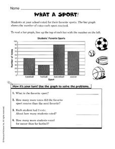 What a Sport! Worksheet