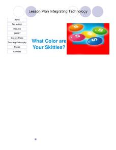 What Color Are Your Skittles? Lesson Plan