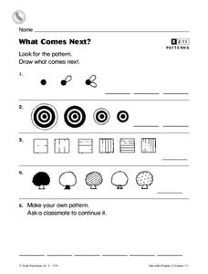 What Comes Next? Worksheet