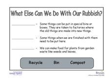 What Else Can We Do With Our Rubbish? Worksheet