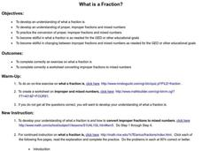 What is a Fraction? Lesson Plan