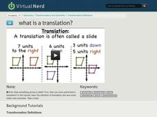 What is a Translation? Video