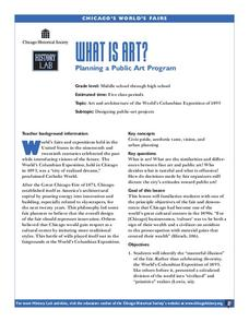 What is Art? Lesson Plan