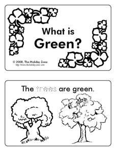 What is Green? Worksheet
