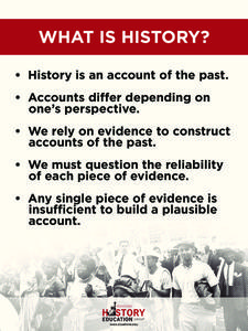 What Is History? Handouts & Reference