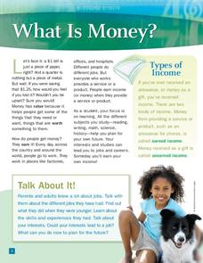 What is Money? Worksheet