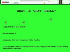 What is That Smell? Lesson Plan