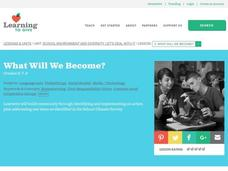 What Will We Become? Lesson Plan