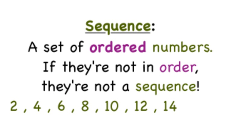 What's a Sequence? Video