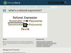 What's a Rational Expression? Video