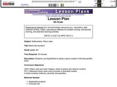 What's My Number? Lesson Plan