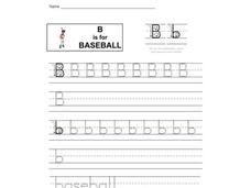 B is for Baseball Interactive