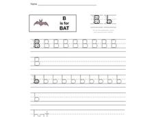 B is for Bat: The Letter B Interactive
