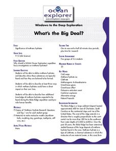 What's the Big Deal? Lesson Plan