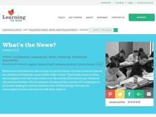 What's the News? Lesson Plan