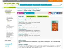 What's the Point of View? Lesson Plan