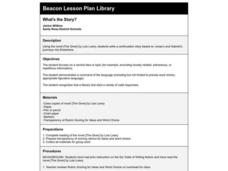 What's the Story? Lesson Plan
