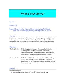 What's Your Story? Lesson Plan