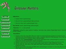 When Dinosaurs Ruled The World Lesson Plan