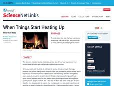 When Things Start Heating Up Lesson Plan