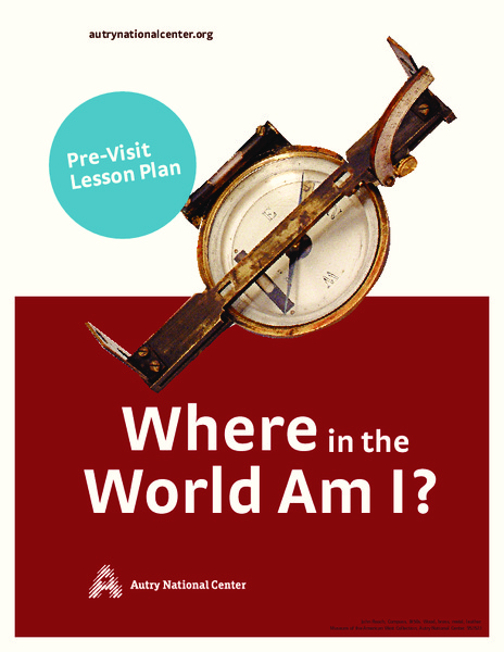 Where In the World Am I? Lesson Plan