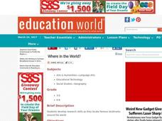 Where in the World? Lesson Plan
