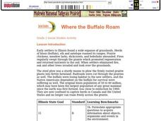 Where the Buffalo Roam Lesson Plan