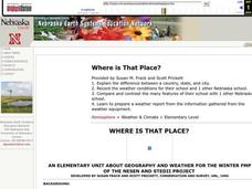 Where Is That Place? Lesson Plan