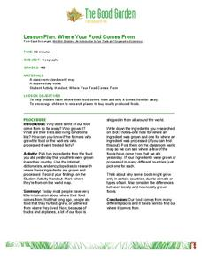 Food Production Lesson Plans & Worksheets Reviewed by Teachers