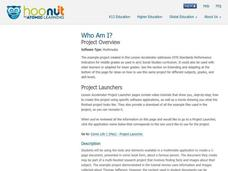 Who Am I? Lesson Plan