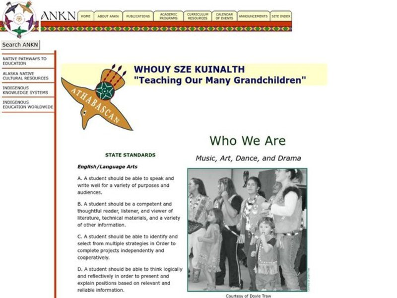 WHO WE ARE Lesson Plan